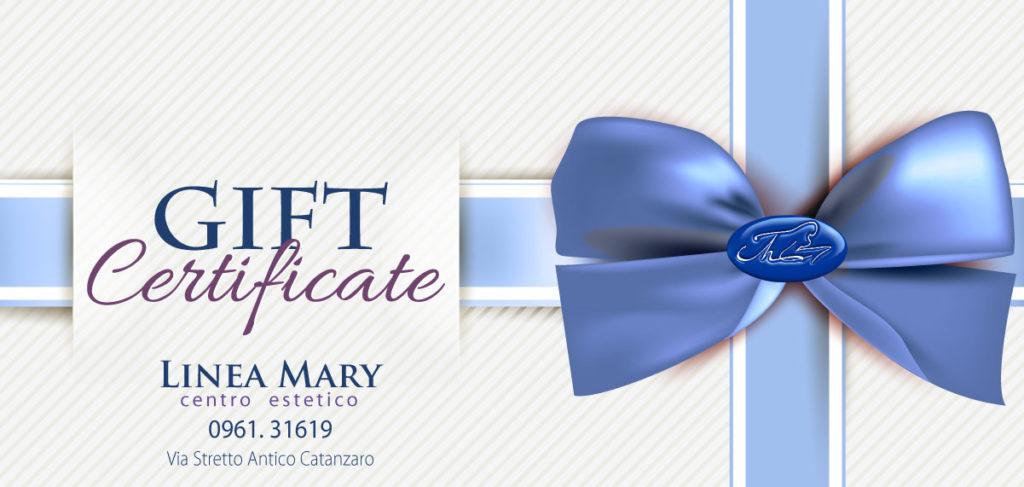 gift-certificate-linea-mary-centro-estetico-catanzaro