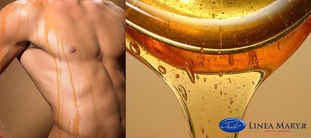 pasta di zucchero depilazione uomo
